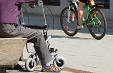 Der Rollator als Unterstützung für ältere Menschen