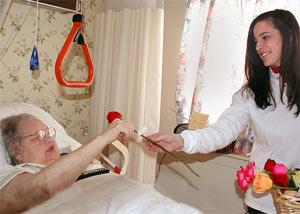 Wer übernimmt die Pflege?